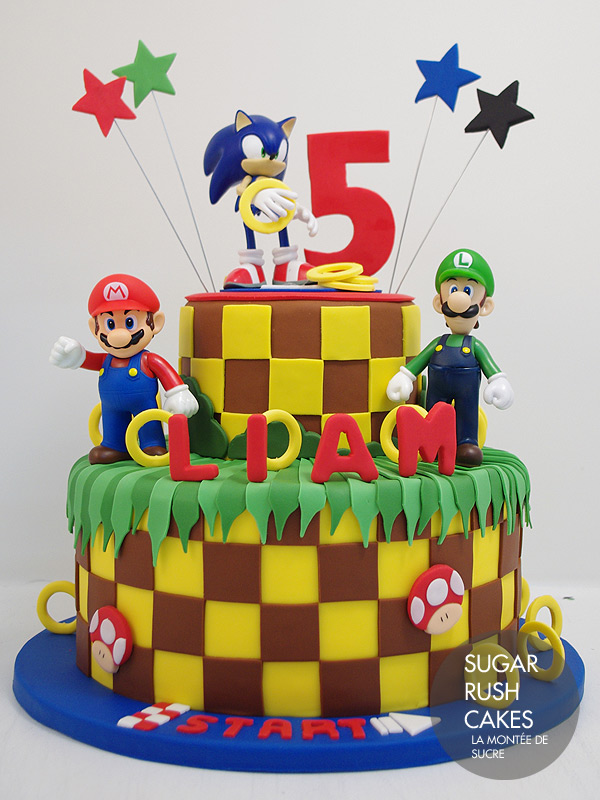 Sonic The Hedgehog Cake Sugar Rush Cakes