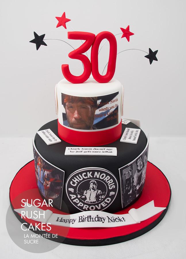 Awe Inspiring Chuck Norris Cake Sugar Rush Cakes Personalised Birthday Cards Sponlily Jamesorg