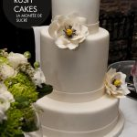 Double tier wedding cake