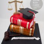 Law Graduation cake