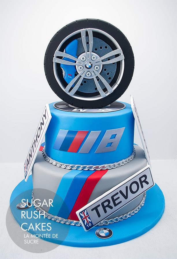 M5 tire cake