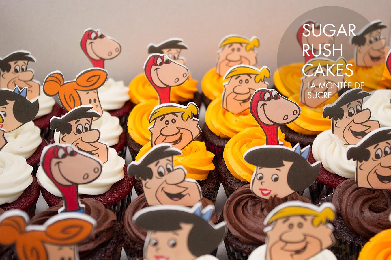Flintstones Cupcakes