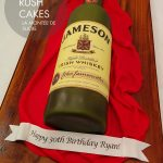 Jameson Whiskey Cake