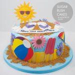 Beach Party Cake