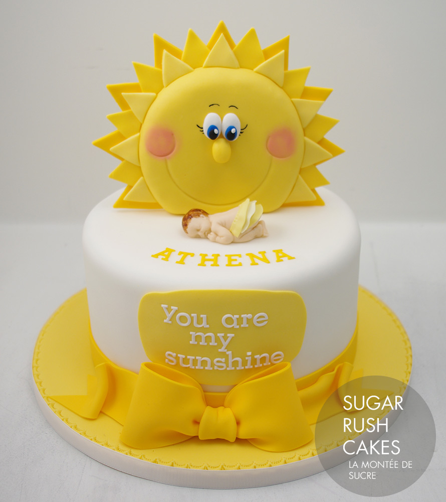 You Are My Sunshine Cake Sugar Rush Cakes