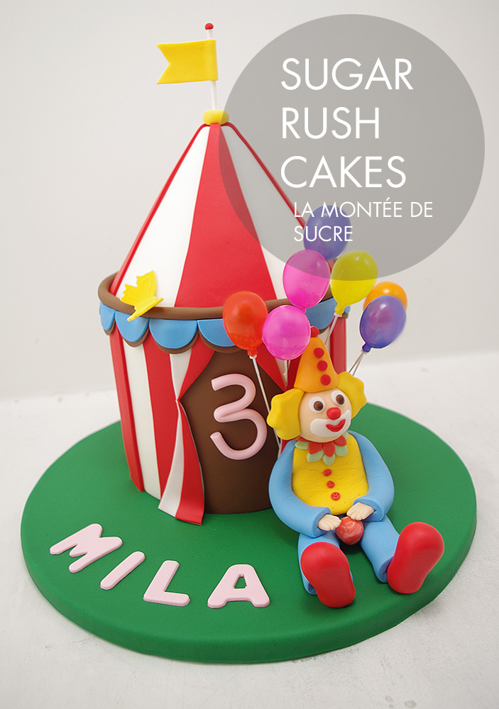 Big-top circus cake