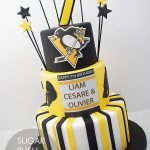 Pittsburgh penguins cake