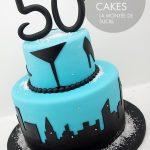 City scape cake