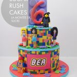 Girly lego cake
