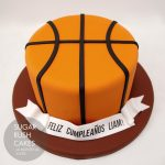 Basketball cake for 8
