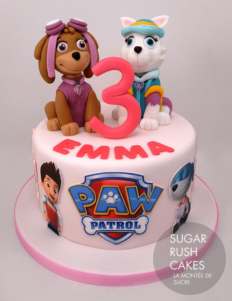 Paw Patrol Pink cake