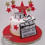 movie star cake