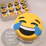 Laughing Tears emoji cake