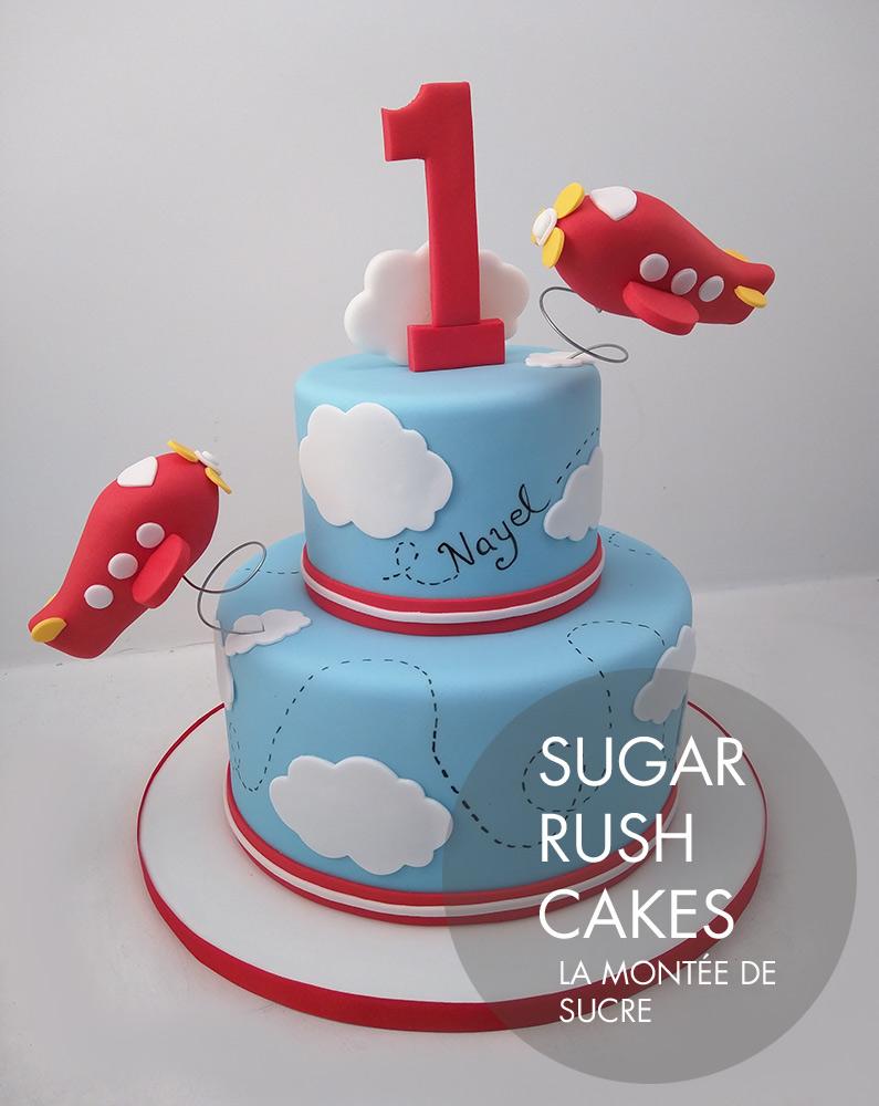 1st birthday cake boy
