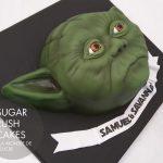 Yoda Face cake