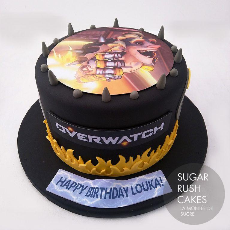 overwatch cake