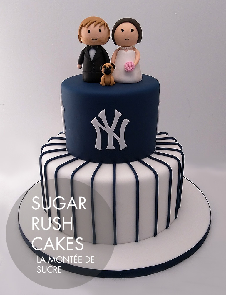 Yankees wedding cake