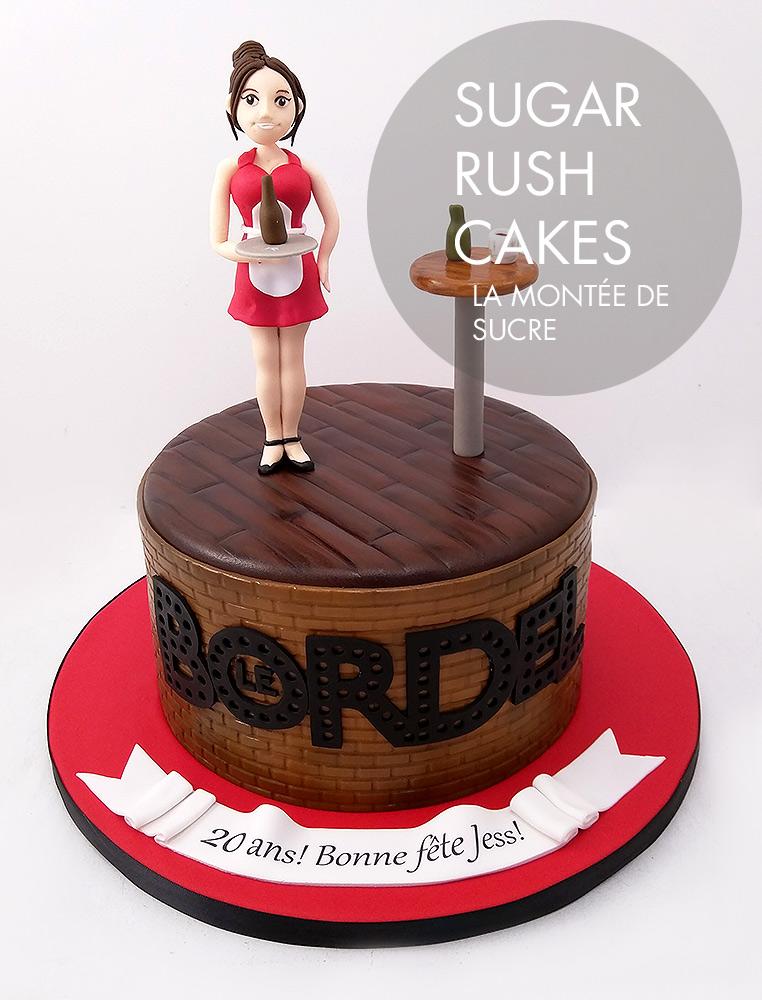 Le Bordel cake