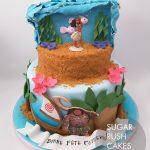 Moana ocean cake