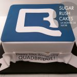 Quadbridge corporate cake
