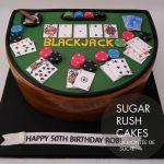 Blackjack cake