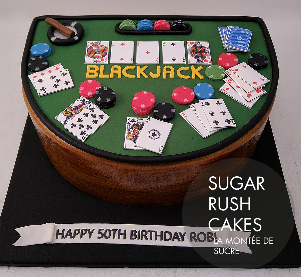 Blackjack cake