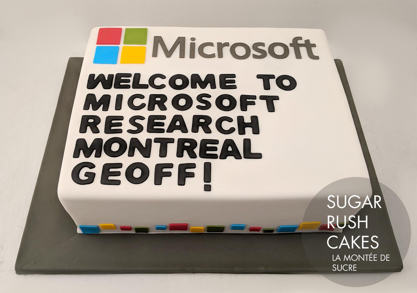 Microsoft Cake