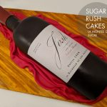 Josh Wine bottle cake