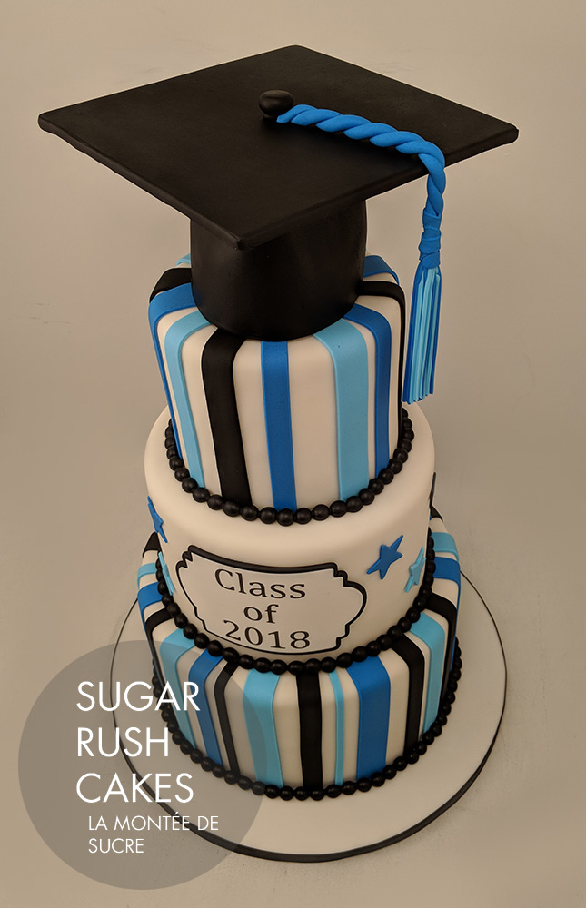 Pinewood graduation cake