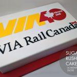 VIA Rail Cake