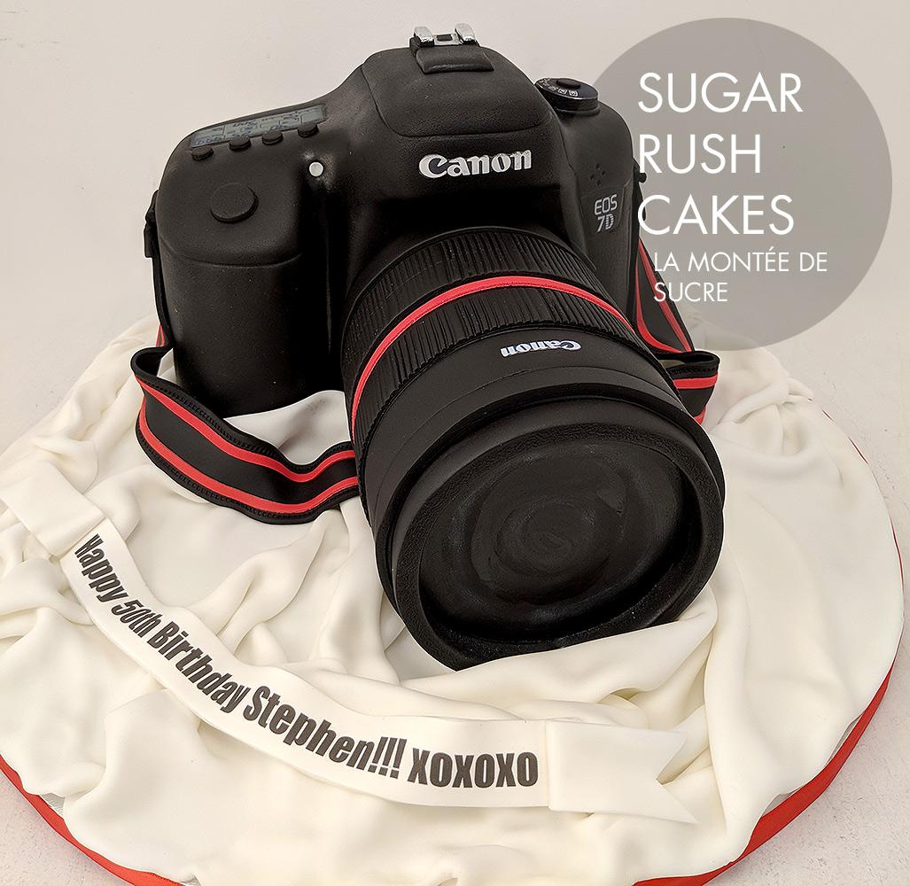 Canon EOS 7D Cake