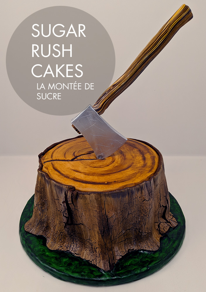axe throwing cake