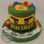 Green Ninjao Cake