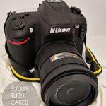 Nikon D810 cake
