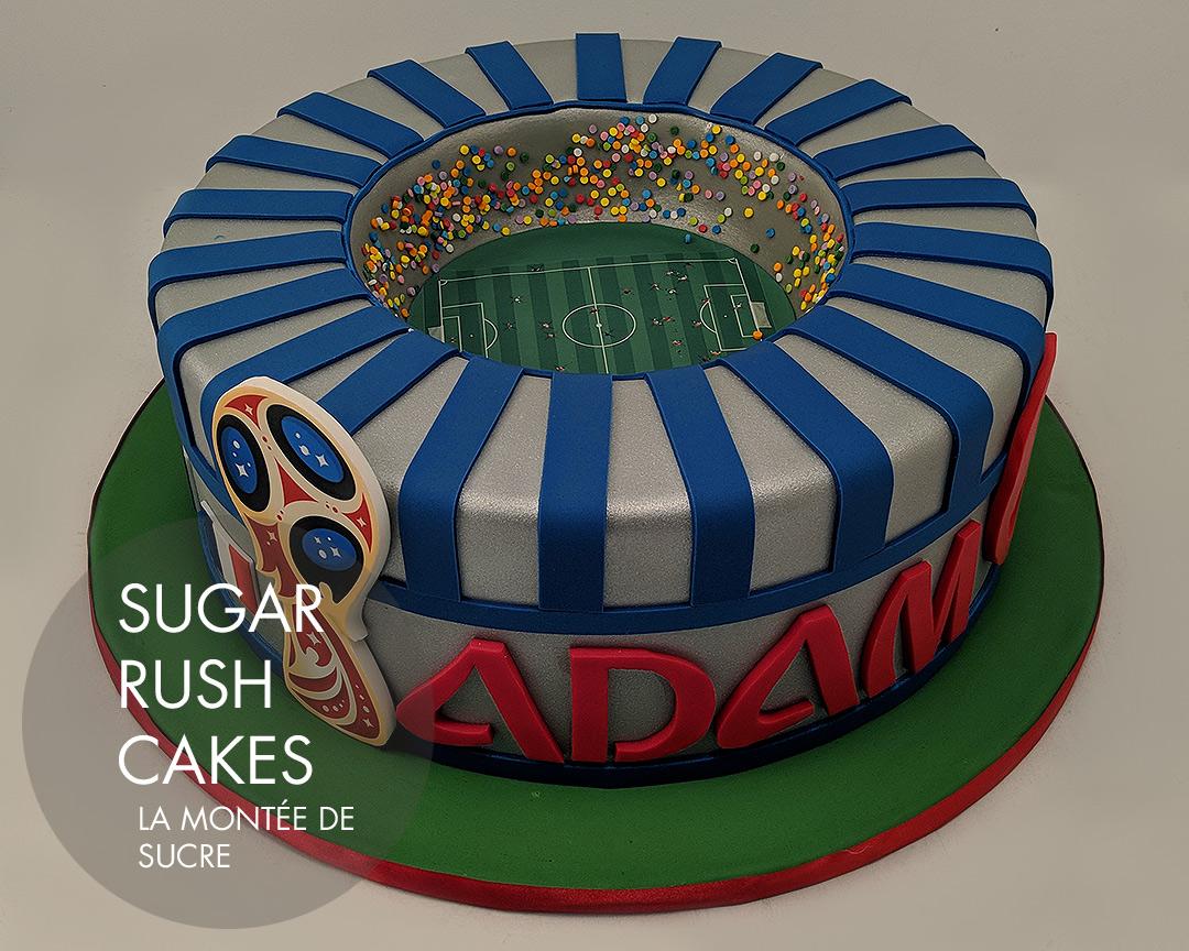 FIFA Stadium cake