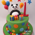 Panda pop cake