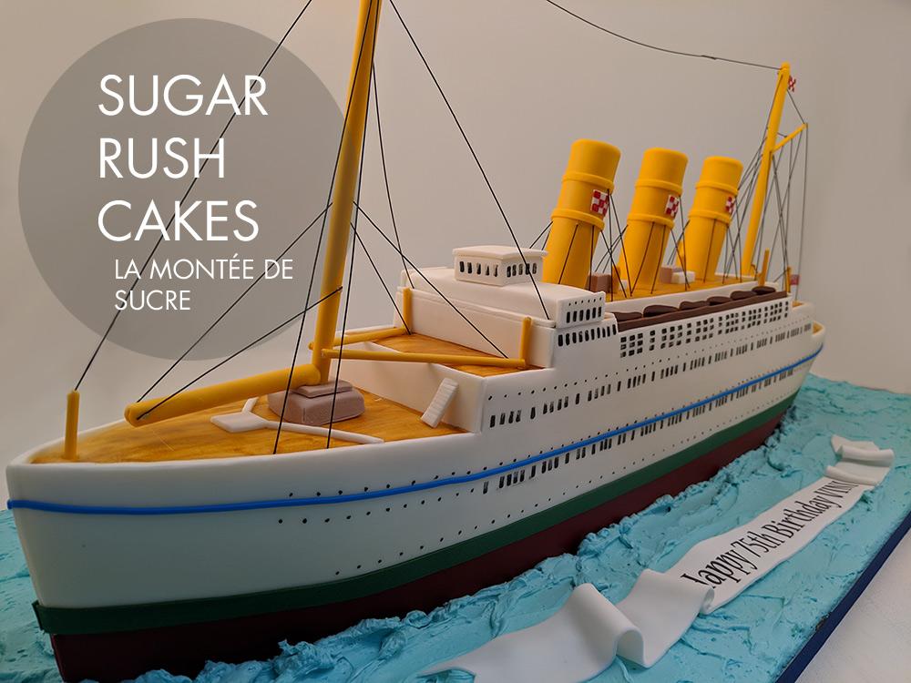 Steam Boat cake