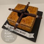 Cigar ashtray cake