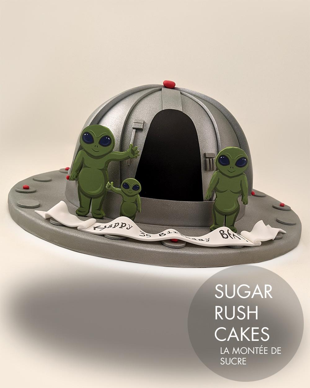 UFO Cake